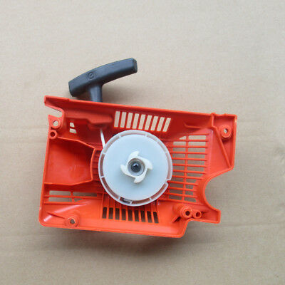 ** New Pull 5200 52cc Recoil Starter Orange Chainsaw Fit 4500 45cc 5800 58cc