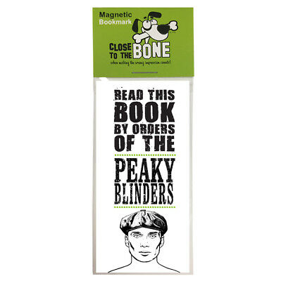 #792 MAGNETIC BOOKMARK Peaky Blinders funny present rude Any Occasion Gift