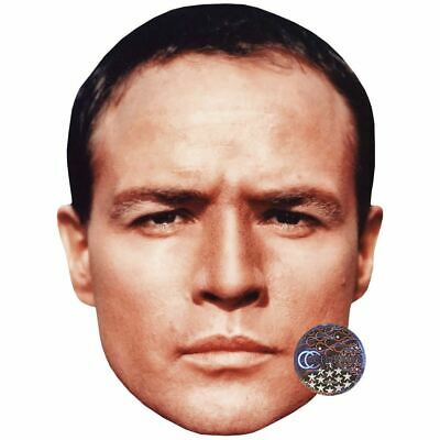 Marlon Brando (Young) Celebrity Mask, Card Face and Fancy Dress Mask