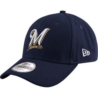 Milwaukee Brewers Licenced MLB New Era 9FORTY Adjustable Cap