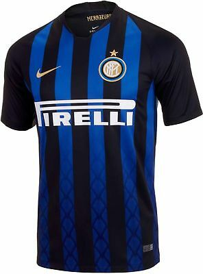 Inter Milan Shirt , Home Football Jersey, 2018/19, New, All Sizes!