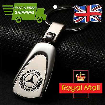 MB Merc Mercedes-Benz Metal Keyring Keychain High Quality