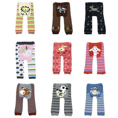 Dotty Fish Baby Toddler Infant Knitted Legging Small 6M+ Medium 12M+ Large 24M+