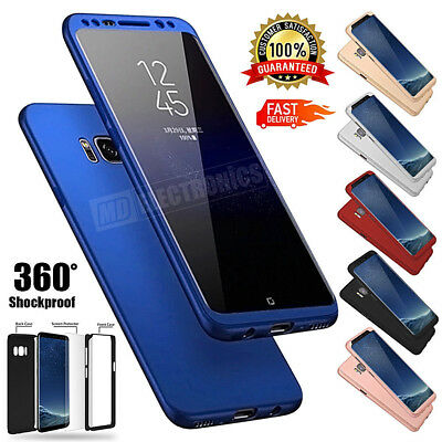 New ShockProof Hybrid 360 TPU UltraThin Case Cover For Samsung Galaxy Phones