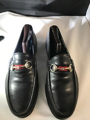 62d3dab92 Vtg! Original Gucci 1953 HORSEBIT Men's Leather Loafers/Shoes 42 D Re-soled