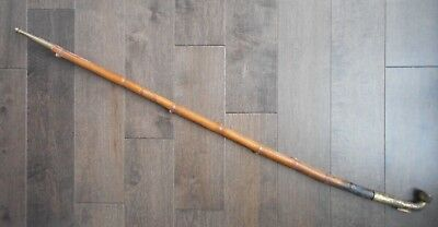 """Antique 19th or Early 20th Century Antique Chinese Tobacco Pipe 36"""""""