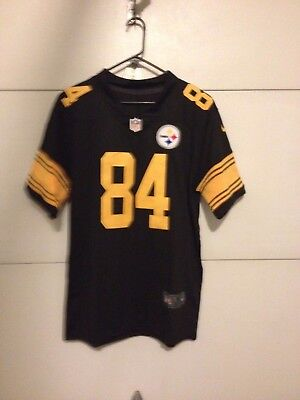 finest selection 395d9 1d4bd ANTONIO BROWN # 84 PIttsburgh Steelers Color Rush Jersey NWT XL,XXL,XXXL