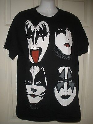 OFFICIAL LICENSED GENE FACE T SHIRT ROCK SIMMONS STANLEY KISS