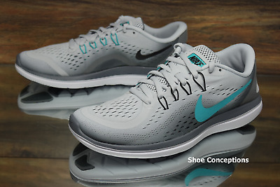 the latest bf047 7d2c5 Nike Flex 2017 RN Platinum Jade 898476-007 Running Shoes Womens Multi Size