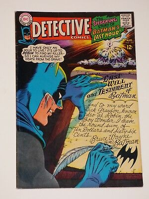 "Detective Comics #366, 8/1967, Very Fine+ Condition, DC Comics, ""Batman"""