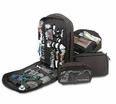 Military STOMP Medical First Aid Backpack - Full Kit (5 colors)