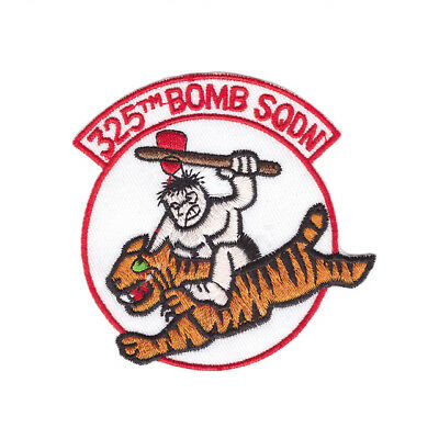 325th BOMB SQDN USAF Military style Iron On Patch Sew on Embroidered Transfer