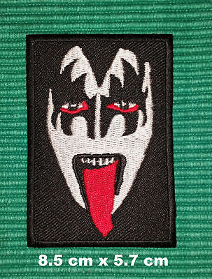 KISS GENE SIMMONS KISS MY A55 ROCK MUSIC SEW//IRON ON PATCH