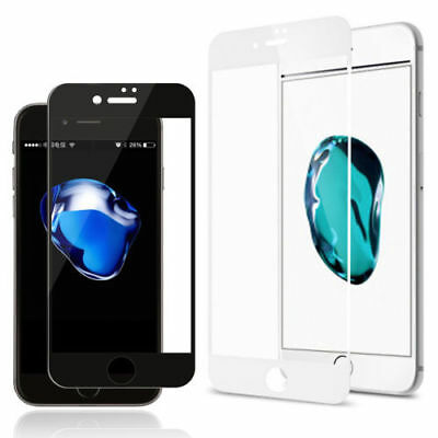 3D Curved Tempered Glass Coverage Film Protector For iPhone X XS Max 7 Plus 8 6S