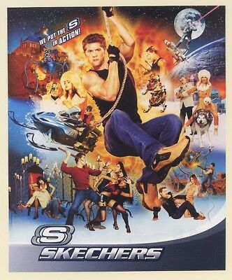 2004 Skechers We Put the S in Action Guy on Rope Print Ad