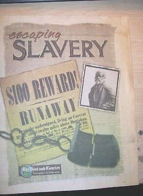 Escaping Slavery-Educational Supplement by the Post Courier