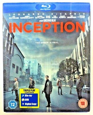 Inception : Triple Play - Blu-Ray + DVD [3-Discs/Slipcover] Missing Digital Copy