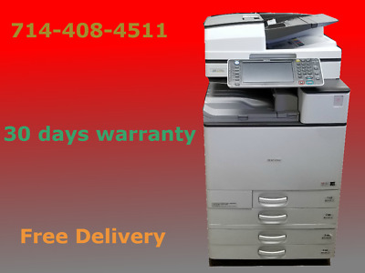 Ricoh Aficio MP C5503 Color Copier  Free Shipping  30 Days Warranty