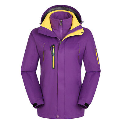 D91 Women Lady Purple Ski Snow Snowboard Winter Waterproof Jacket 6 8 10 12  14 4181db70e
