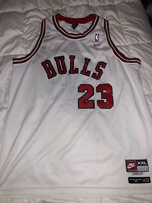 finest selection 32767 bb080 MICHAEL JORDAN CHICAGO BULLS 23 Nike Jersey Flight 8403 M +2 ...