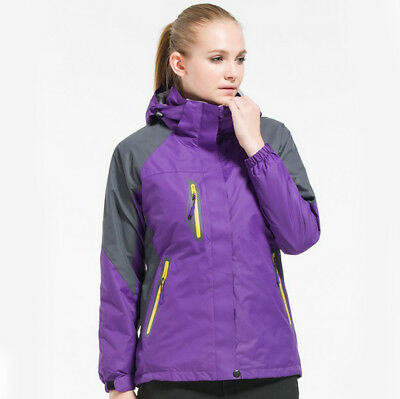 D26 Women Purple Ski Snow Snowboard Winter Waterproof Jacket 6 8 10 12 14 36c60122b
