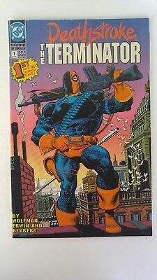 Deathstroke, the Terminator #1 (Aug 1991, DC) VF/FN
