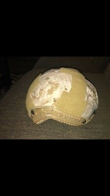 Ops-Core FAST XP Helmet Urban Tan SM/MD With Aor1 First Spear Helmet Cover