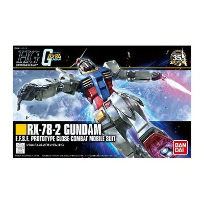 Gundam Rx-78 Hguc Gundam Rx-78-2 Revive 1/144 Gunpla Model Kit Hg High Grade