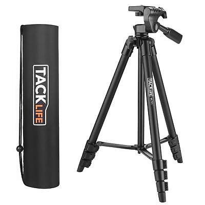 Tripod, 55-Inch Camera Tripod, Lightweight Aluminum Travel Tripod with Carry Bag