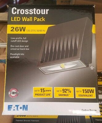 EATON / CROSSTOUR 26W LED Light WALL PACK  XTOR3B - W 4000k