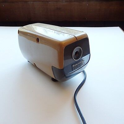 Vtg Panasonic Electric Pencil Sharpener KP 88A RETRO Japan Tested Auto Stop EUC