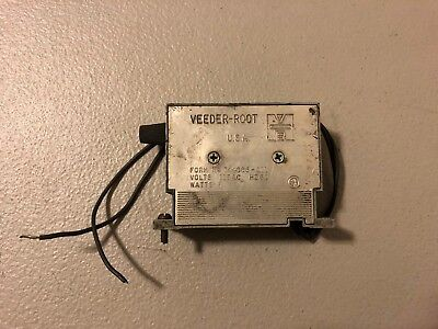 Used Veeder-Root Mechanical Counter 744386-011