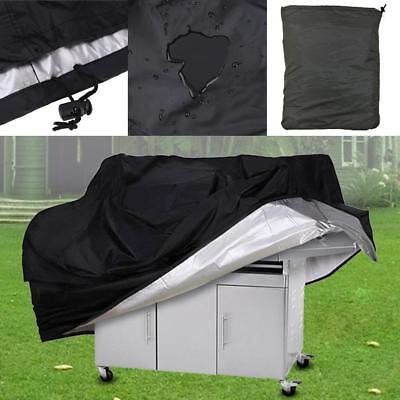 """BBQ Gas Grill Cover 57"""" Barbecue Protection Waterproof Outdoor Heavy Duty Tool"""