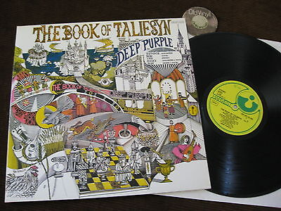 LP Deep Purple The Book of Taliesyn Germany   M- to EX