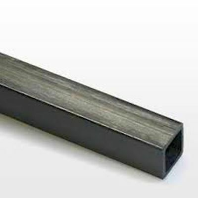 1x 10mm x 10mm x 1000mm Square Inside Pultruded Carbon Fibre Tube (SQ10)