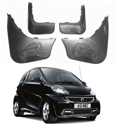 Genuine OEM Set Splash Guards Mud Guards Flaps For 08-2015 Smart ForTwo 451 W451