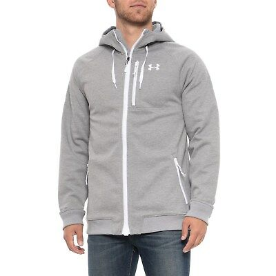 Under armour 1//4 zip draft fitted top white small 36//37 S bnwt