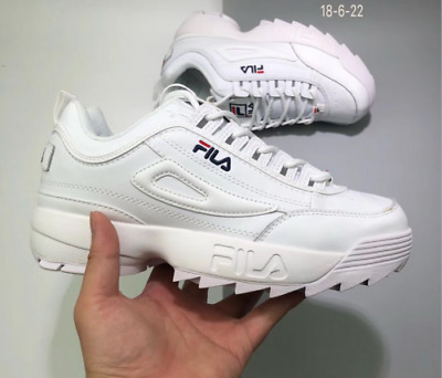 promo code e1838 d640e Chaussures Disruptor Blanches Baskets Ii 2 Athlétique Classique Fila  n0qwPz8Rw