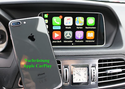 Mercedes Smartphone Integration Apple CarPlay Android Auto CLS 218 500