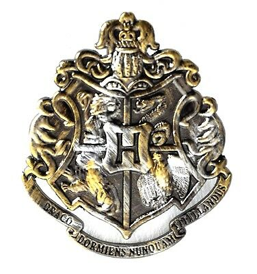 Harry Potter Replica Hogwarts Badge / Brooch / Shield / Coat of Arms pin