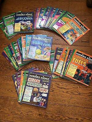 Horrible Science Magazine Collection - 65 issues - good condition