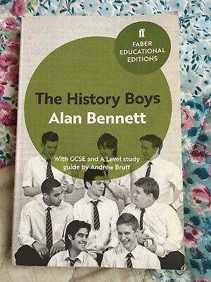 The History Boys: With GCSE and A Level study guide by Alan Bennett (Paperback,