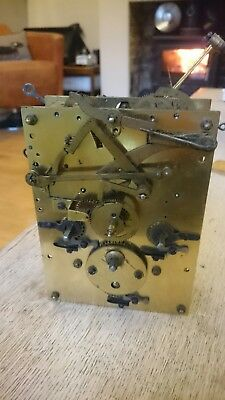 Junghans Westminster Chimes Clock Movement B10 Thick Solid Plates Large