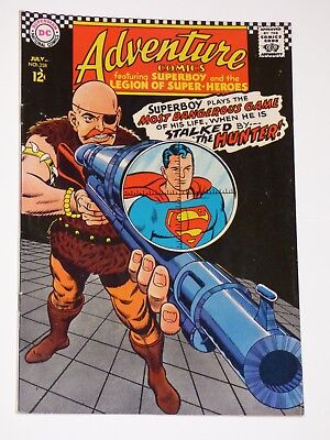 "Adventure Comics #358, 7/1967, Very Fine Condition, DC Comics, ""Superboy"""