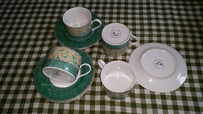 BHS Valencia Set of 4 Cups & Saucers.