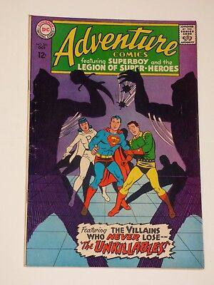 "Adventure Comics #361, 10/1967, Very Fine Condition, DC Comics, ""Superboy"""