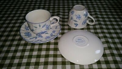 BHS Bristol Blue Pair of Cups & Saucers.