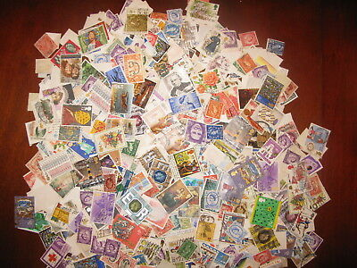 Great Britain + British Commonwealth 4 Ounces Off Paper About 118 Grams Lot4