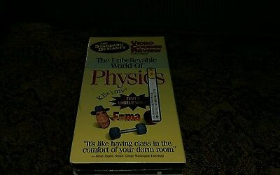 Standard Deviants Unbelievable World Of Physics Video Course Review VHS Video