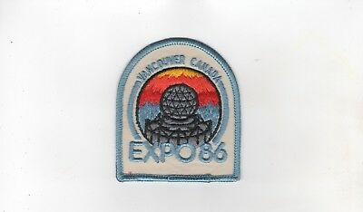 Expo 86 Vancouver, Canada, Official Patch, Mint, Unused